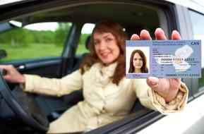 Водительские права в Канаде