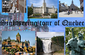 Sightseeing tour of Quebec city